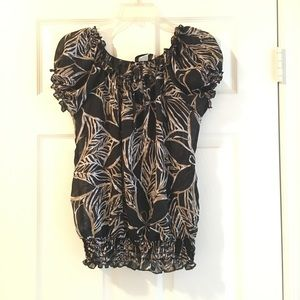 2/$10 Like new Boho blouse (Small)
